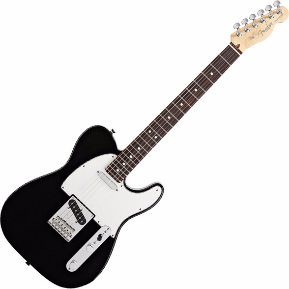 Guitarra Fender American Standard Telecaster Rw Bk Com Case