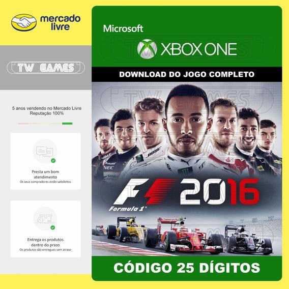 Formula 1 F1 2016 Codigo 25 Digitos Microsoft Xbox One