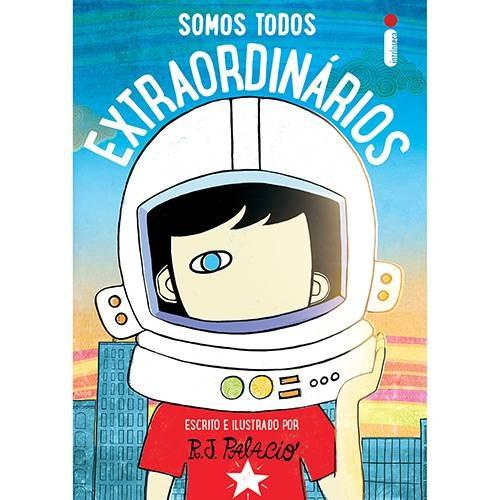 Livro Somos Todos Extraordinários - R J Palacio