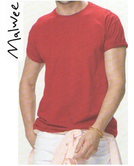 5 Camiseta Masculina Malwee Gola Redonda Basica