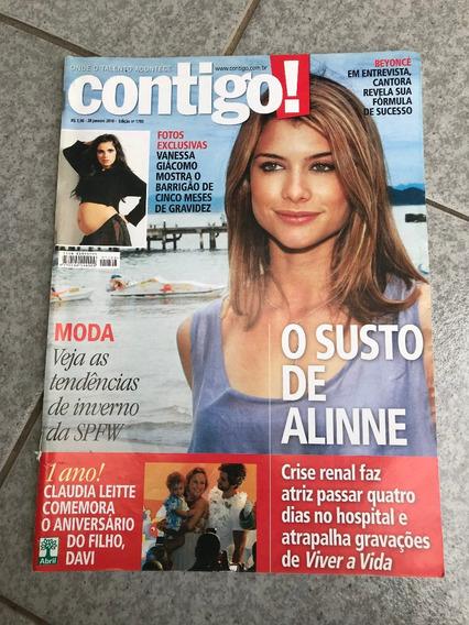 Revista Contigo 1793 Alinne Moraes Vanessa Giácomo Beyoncé