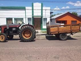 Tractor Fiat Y Máquina De Aserradero Sin Fin