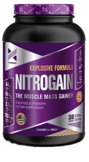 Nitrogain 1,5kg Xtrenght Ganador De Peso Oxido Nitrico