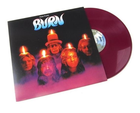 Deep Purple Burn Vinilo Color Lp Rocktober Nuevo En Stock
