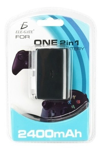 Imagen 1 de 3 de Carga Y Juega Para Control Xbox One Bateria Cargador Batería
