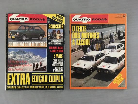Revista Quatro Rodas - Outubro 1979 - Nº 231 Fiat Gls Puma