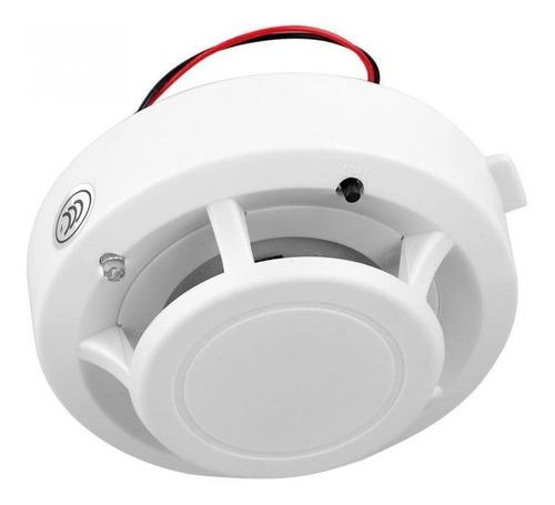 Imagen 1 de 4 de Sensor Detector De Humo Con Sonido Propio Y Para Alarma Gsm 433 Mhz