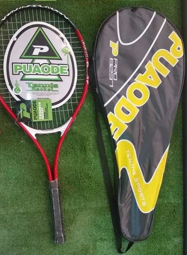 Raqueta Tenis Puaode 27. Incluye Estuche Completo.