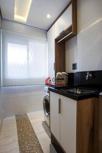 Apartamento Com 2 Dormitórios À Venda, 55 M² Por R$ 320.900,00 - Baeta Neves - São Bernardo Do Campo/sp - Ap1030