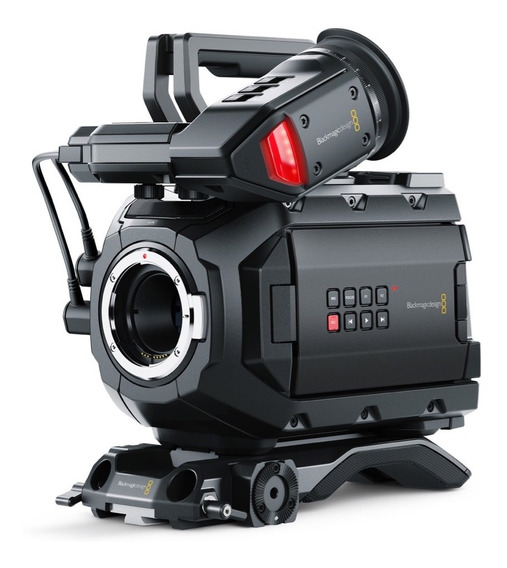 Kit Blackmagic Ursa Mini +3 Cards Cfast+2 Baterias Vmount