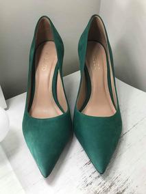 b2c6182406 Sapato Scarpin Verde Musgo - Sapatos no Mercado Livre Brasil