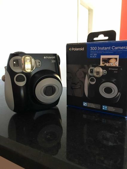Câmera Instantânea Polaroid Pic 300 Cor Preta