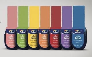 Alba Color Test Colores Para Probar Pintar Mm