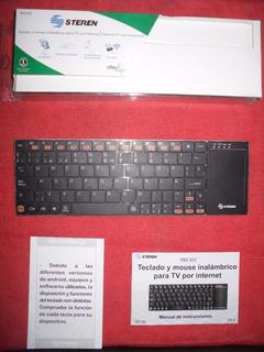 Mini Teclado Y Mouse Inalámbrico Para Tv, O Computadora.