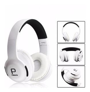 Audífonos Inalámbricos Con Bluetooth Micro Sd Y Cable Aux