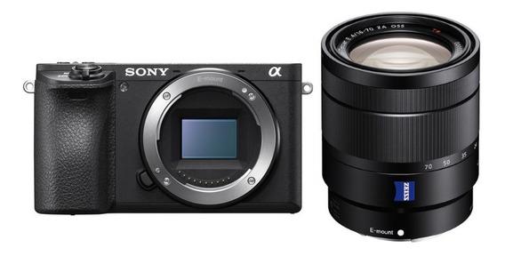 Sony A6500 Com Lente T * E 16-70mm F/4 Za Oss - Lj. Platinum