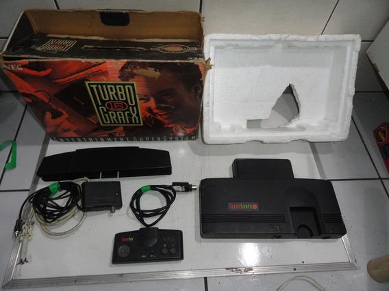 Turbo Grafx 16 No Estado Sega Nintendo Engine Defeito
