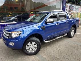 Ford Ranger Dupla Xls 2014/2014 Azul 2.5 Flex Acess 53000 Km