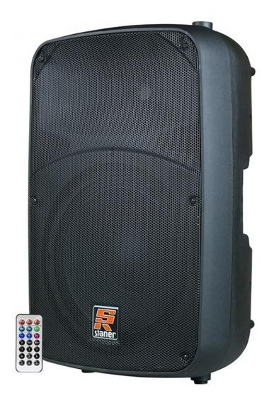 Caixa Acústica Staner Ativa Sr-315a Bluetooth 300w - Bivolt