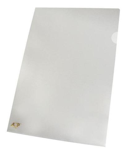 Imagem 1 de 2 de Pasta L Transparente A4 Acp Com 100 Unidades