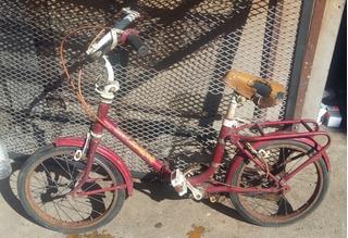 Bici Retro Fiorenza, Rodado 14, Plegable