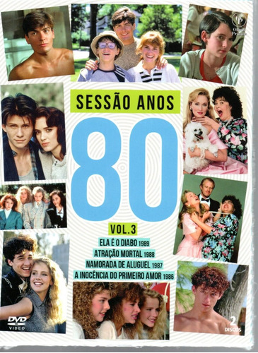 Imagem 1 de 2 de Dvd Sessao Anos 80 Volume 3 - Opc - Bonellihq L19