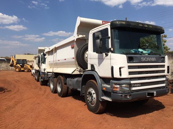 Caminhão Basculante Scania 420