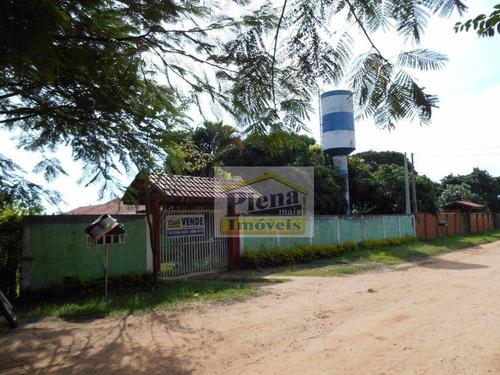 Chácara  Residencial À Venda, Chácara Recanto Das Orquídeas, Monte Mor. - Ch0056