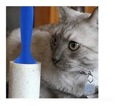 Rodillo Quita Motas Pelusa Pelo Polvo Mascotas Muebles