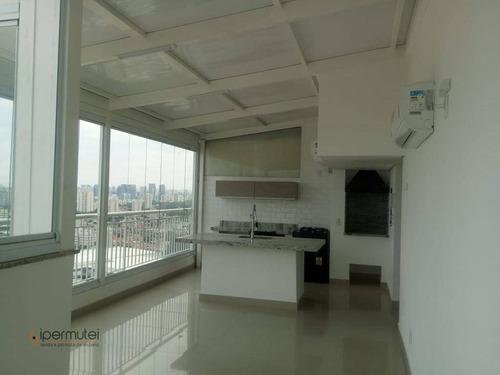 Linda Cobertura Duplex Com 2 Dormitórios À Venda, 111 M² - Santo Amaro - São Paulo/sp - Co0057