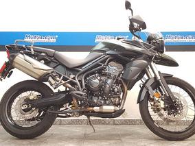 Triumph Tiger 800xc 2014 Verde
