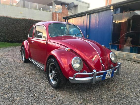 Volkswagen Escarabajo, Alemán Modelo 1967 - Placa De Antiguo