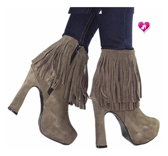 Botineta Bota Mod Lola De Shoes Bayres Cuotas Sin Interes