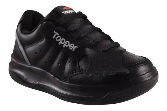 Zapatillas Topper X Forcer Kids - 100 % Cuero Vacuno