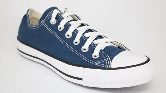 Tenis Converse All Star Core Cano Baixo Azul Escuro