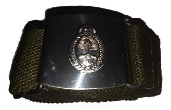 Cinto Fajina Hebilla, Metálica Con Escudo Nacional Ejercito