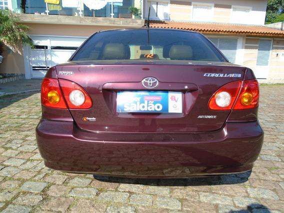 Corolla Xei 1.8 Automatico-ricardo Multimarcas Suzano