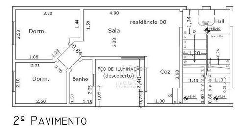 Cobertura Com 2 Dormitórios À Venda, 80 M² Por R$ 285.000 - Parque Erasmo Assunção - Santo André/sp - Co4574