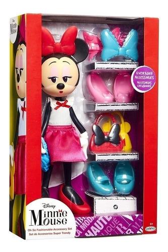 Minnie - Muñeca Con Accesorios Tienda Oficial Disney 85061