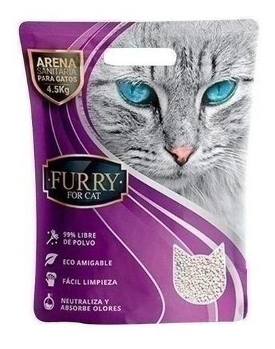 Arena Aglomerante Furry - 4.5 Kg