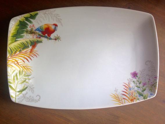 Travessa Porcelana Pássaros 35cm