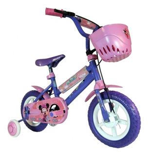 Bicicleta Para Niño De Paseo Unbike Minnie Cód. 123021 R12