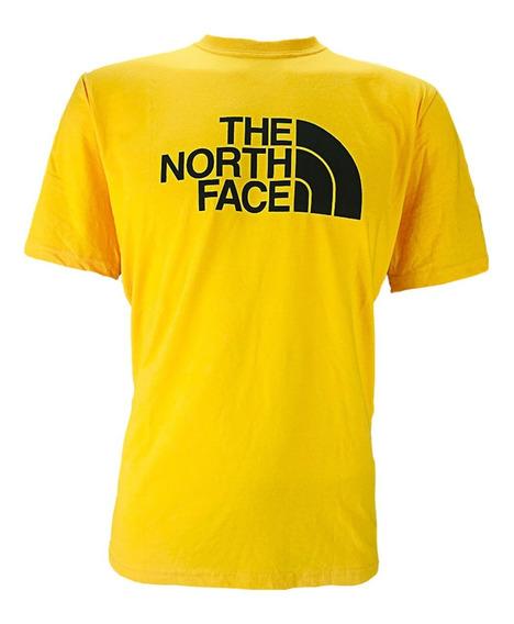 Playera The North Face M S/s Halfdome Yellow