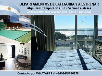 Departamentos Alquiler Temporario- Vista Al Rio De Categoría