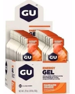 Gu Energy Gel (caixa C/ 24 Uni) Laranja Gu