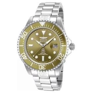 Reloj Invicta De Caballero, Sumergible, Wr300m, Fondo Verde.