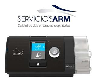 Cpap-resmed S10 Airsense, Humidificador Y Datos-