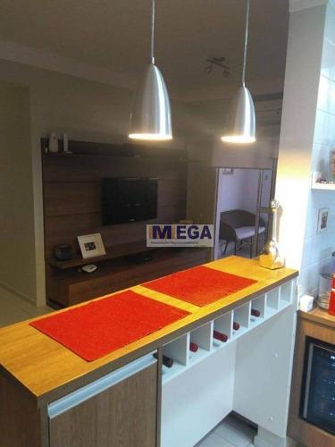 Imagem 1 de 26 de Apartamento Com 3 Dormitórios À Venda, 83 M² Por R$ 520.000,00 - Parque Prado - Campinas/sp - Ap3673