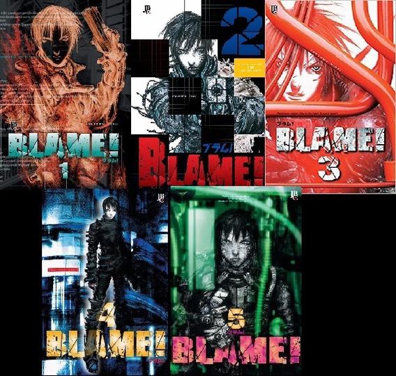 Coleçao Blame Tsutomu Nihei Vol. 1-5 (novo)