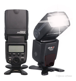 Flash Viltrox Speedlite Jy680a Câmeras Canon E Nikon Dslr
